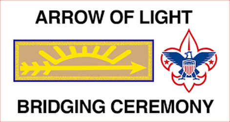 Arrow Of Light Crossover Ceremony